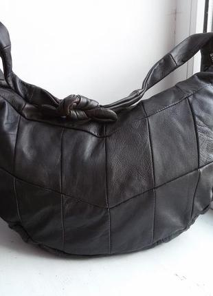 Кожаная сумка gap1 фото