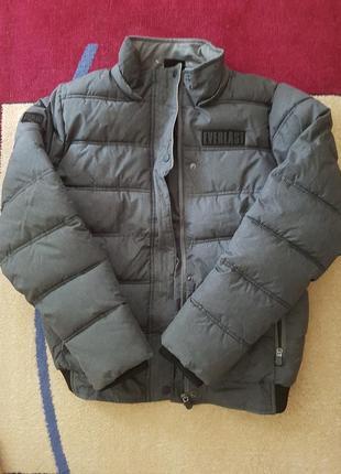 Супер теплая зимняя куртка everlast