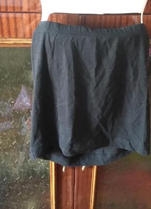 Юбка чорна черная спідниця міні мини