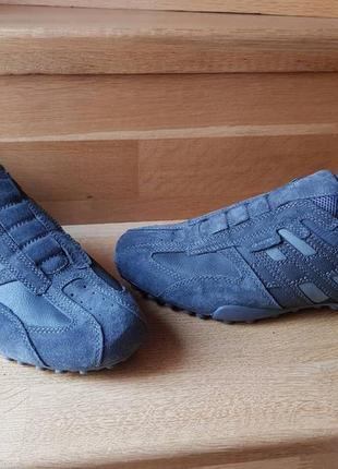 Мужские замшевые кроссовки geox