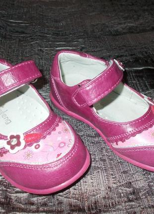 Малиновые туфельки 24р