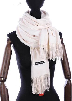 Кашемировый шарф платок палантин