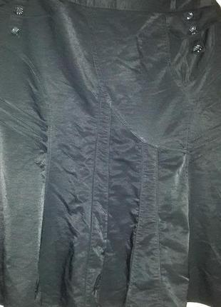 Стильная юбка большого размера с карманами на подкладе