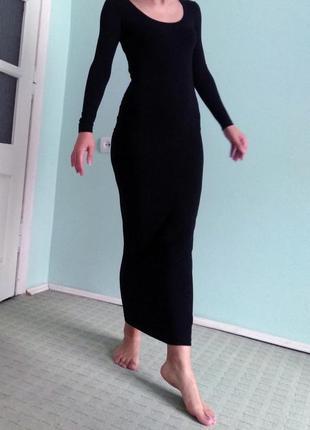 Платье макси asos c оригинальной спинкой
