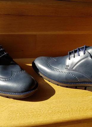 Мужские кожаные туфли ессо