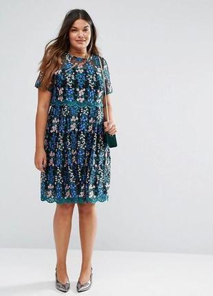 Невероятной красоты платье!