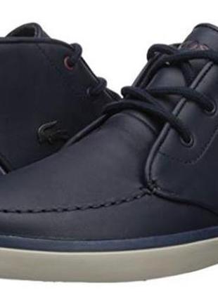 Мужские ботинки lacoste sevrin mid 417 1 sneaker, 10us/ 43
