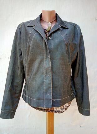 Трендовый графитовый джинсовый,шерстяной жакет на кнопках,касука,пиджак,ветровка.