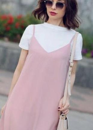Трендовое платье майка cropp