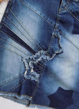 Актуальная, миди , джинсовая юбка