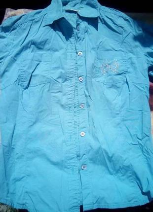 Стильная красивая рубашка tom tailor