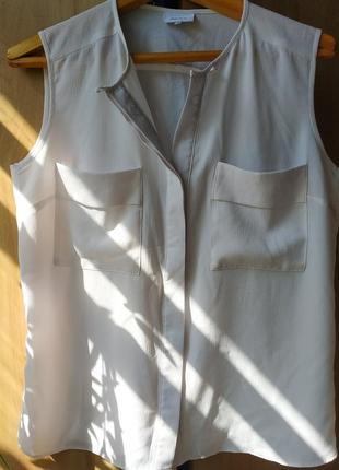 Эффектная блуза с большими карманами next