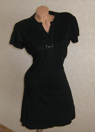 Платье теплое, размер 46-48