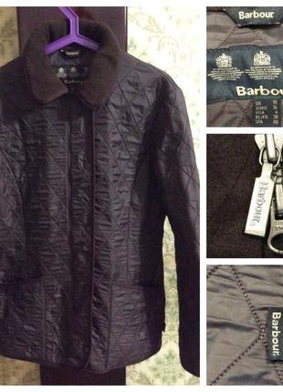 Куртка стёганая на флисовой подкладке barbour