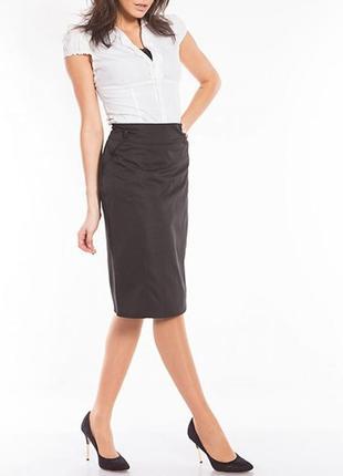 Классическая юбка ниже колена в офис/работу reiss