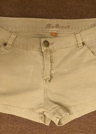 Супер шорты жен джинсовые обрезанные раз l