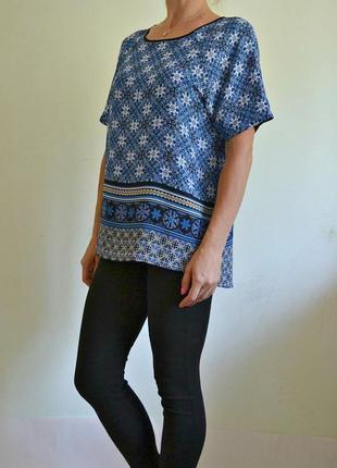Шифоновая блуза свободного кроя s-l
