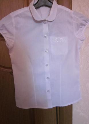 Школьная рубашка на девочку 7-8 лет