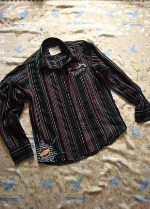 Рубашка в полоску на р-р m. турция