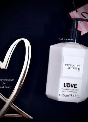 Victoria's secret. парфюмированный лосьон, крем для тела love викториас сикрет