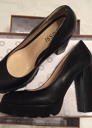Туфли на платформе каблук glossi