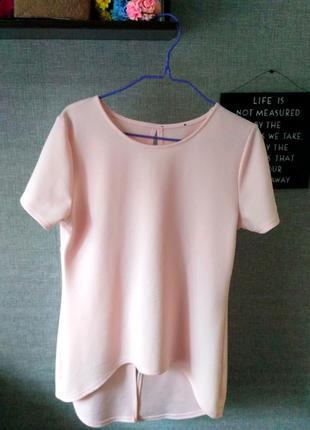 Прикольная кофточка нежно-розового цвета