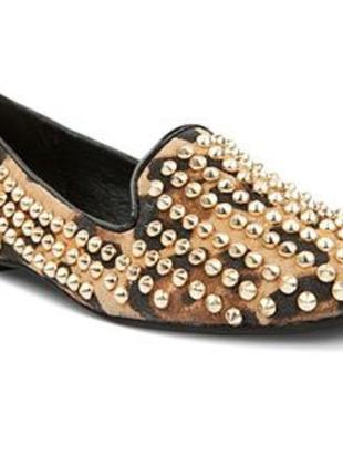 Балетки мокасины туфли с шипами steve madden 38, 39 размер 24,5 - 25 см4