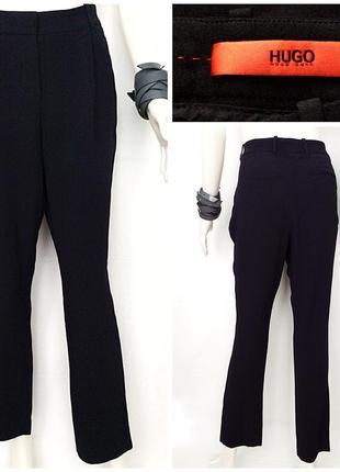 Hugo boss строгие чёрные брюки