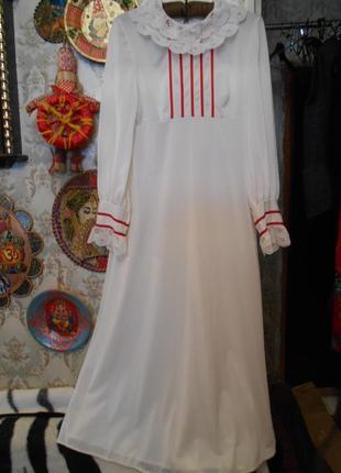 #одежда для дома #made in france, рaris#винтажная ночная рубашка р.40\38\36 #