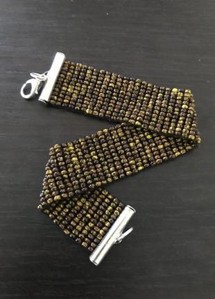 Hand made браслет из бисера