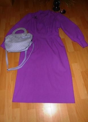 Яркое платье в стиле ретро