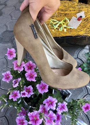 🔥низкие цены ‼️туфли на каблуке, натуральная кожа