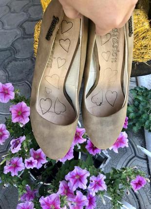🔥низкие цены ‼️туфли на каблуке, натуральная кожа2