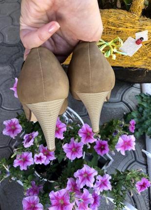 🔥низкие цены ‼️туфли на каблуке, натуральная кожа3