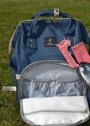 Распродажа!!!!рюкзак для мамы с термопеналом и креплениям на коляску