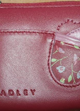 Кожаный кошелёк монетница от radley london