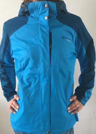 Демисезонная куртка columbia titanium на флисе