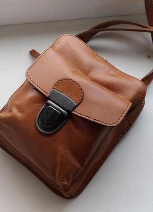 Кожаная сумочка white stuff