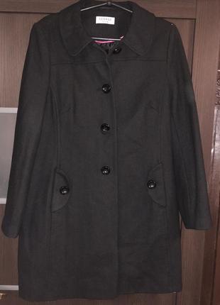 Шерстяное пальто george