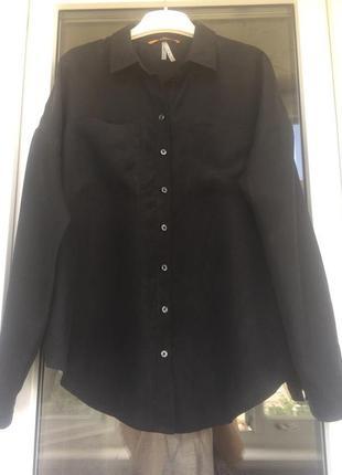 Hugo boss оригинал шикарная рубашка из натурального шелка