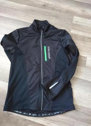Новая мужская кофта для бега или вело
