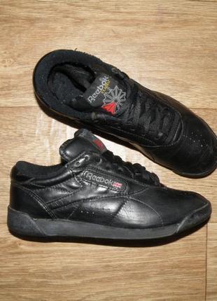 Оригинальные кожаные кроссовки reebok 38 24см