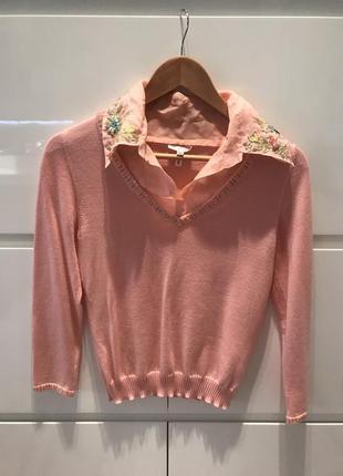 Escada оригинал кашемировый свитер