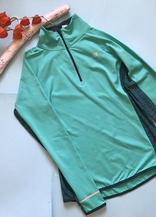 Спортивная кофта new balance бирюзового цвета, р м