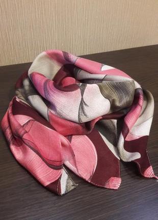☇красивейший шерстяной турецкий платок абстракция качество