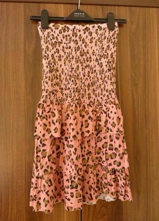 Стильное, молодежное платье бюстье.