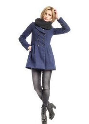 Женское  деми  пальто    английского бренда yumi, xl, сток из европы