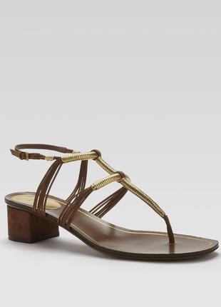Gucci оригинал италия замшевые босоножки сандалии