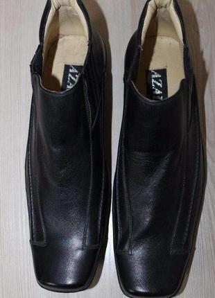 Итальянские кожаные ботинки, 45 размер