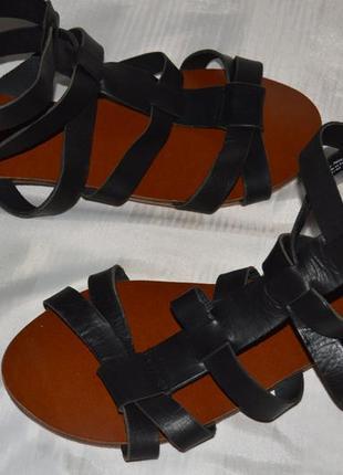 Босоножки сандали кожа next размер 43 (9) 42, босоніжки сандалі